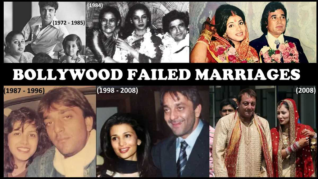 Bollywood Failed Marriages